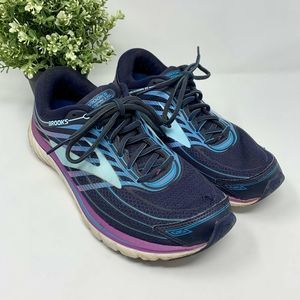 Brooks Glycerin 15 Running Shoes Blue Size 10 Wide